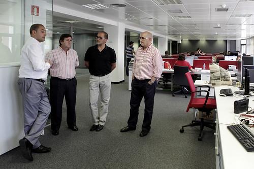 Gispert, Espuny i Pérez a l'ACN