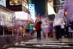 nothing but ghosts. (schieflicht) Tags: city newyorkcity usa newyork cityscape manhattan timessquare stadt ghosts nordamerika nichtsalsgespenster
