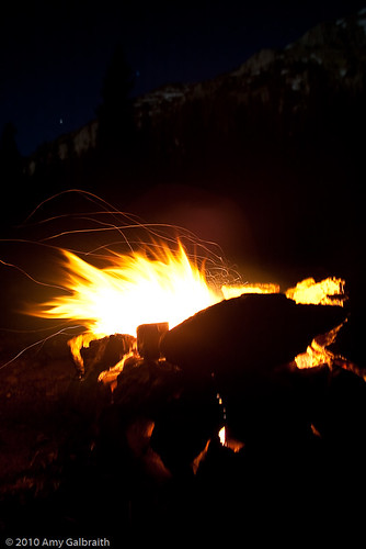 Moonlit Fire