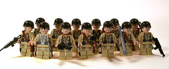 American Infantry (*Nobodycares*) Tags: soldier lego wwii worldwarii american ww2 soldiers guns allies uas allied sheaths brickarms sluban mmcb