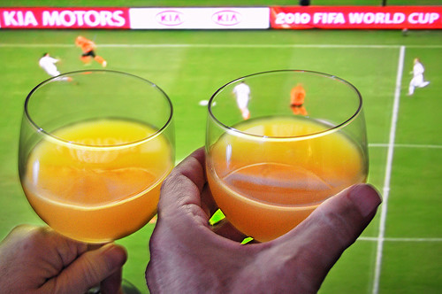 Orange (Juice) Toast to the Netherlands in World Cup Play