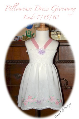 Vintage Pillowcase Halter Dress
