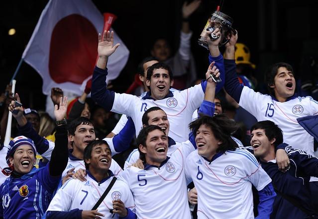 Mundial fanáticos Paraguay