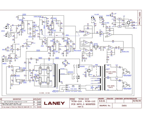 Laney VC30 schematic - a photo on Flickriver