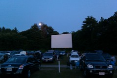 At the Mendon Drive-In
