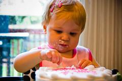 First Cake 2