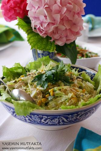 Müge'nin Tavuk Salatası
