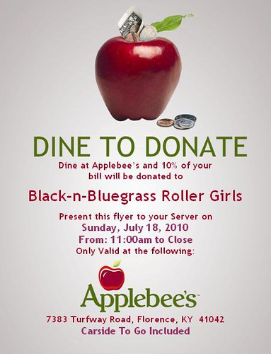 Applebee's Dine to Donate