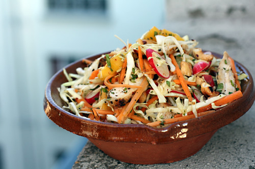 Chicken Mango Slaw - David Lebovitz