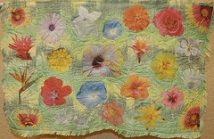 """Jane Aldoretta - Fabric Garden #1 21"""" x 32 """""""