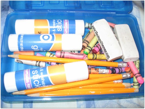 Post 1st grade supplies