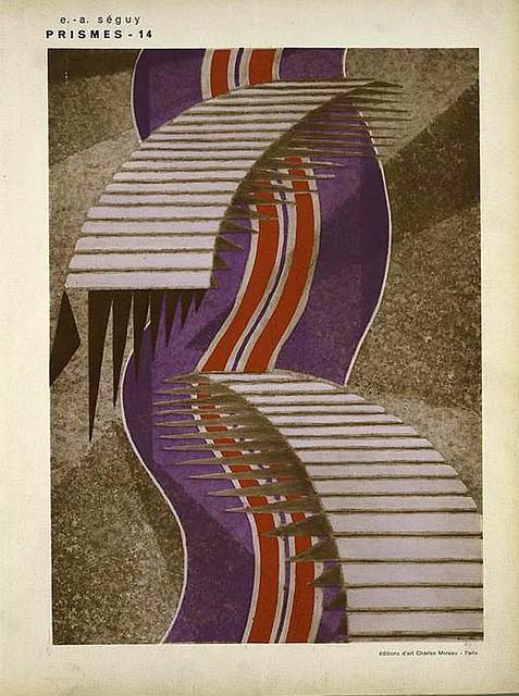 026-Prismes 40 planches de dessins et coloris nouveaux 1931- Eugene Alain Seguy