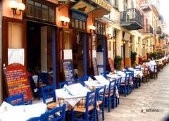 Xristoforos tavern at Nafplion (Greece)