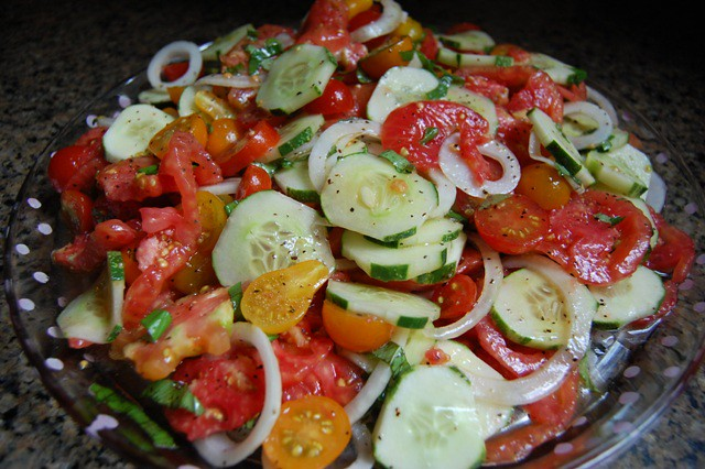 TomatoCucumberOnionSalad