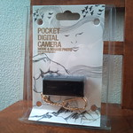 POCKET DIGITAL CAMERA SQ30m をゲットしました!