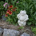 Beautiful Garden with Carruth sculpture by Lynn Raftery-Ellington