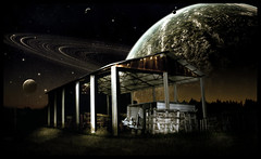 Space Factory (Miky_P) Tags: stella photoshop stars star nikon factory space planet lightroom stelle spazio d300 pianeta fattoria lampista strobist michelepincanelli