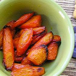 Lime Roasted Carrots @ A Kenetic Energetic but not Genetic Diabetic