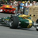 Jim Clark's fabulous Indy 500 winning Lotus-Ford 38 driven by Jackie Stewart at the 2010 Goodwood Festival of Speed
