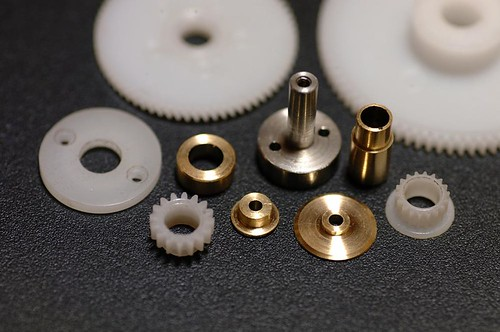 Part production of gear unit