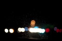 Rain and lights