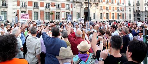 Concentración contra la impunidad del Franquismo (01/07/2010)