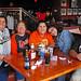 The gang at the Hockeytown Cafe.