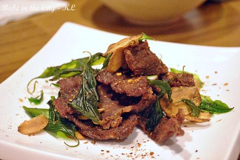 Single Sun Beef (RM15)