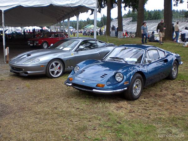 Dino 246 and Ferrari 575