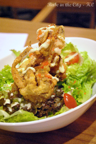 Soft Shell Crab Salad (RM15)
