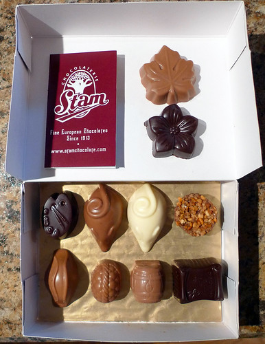 Chocolaterie Stam Chocolate Pieces Box