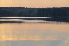 Dawn over Pyhajarvi, Priikoolinnokka (Niall Corbet) Tags: sky lake reflection clouds sunrise suomi finland dawn pyhajarvi lempaala