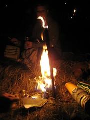 Stone circle Sunday night (VickyLizzy) Tags: glastonbury2009