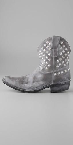 golden goose star zip booties