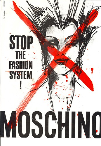 Vintage Moschino ad