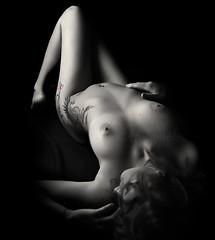 Erotism (Neusallen) Tags: bw blancoynegro ink akhab rafaelflixfenixphoenixtattooneus