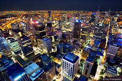 Night View of Melbourne (-yury-) Tags: night australia melbourne victoria vic rialto