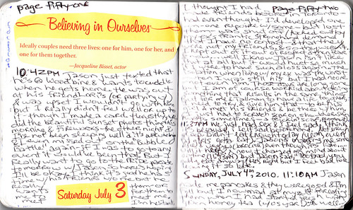 Journal #25 pages 51 & 52