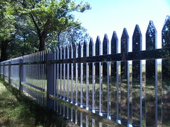 Alyson Shotz - Mirror Fence