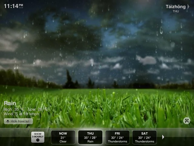 Weather HD - iPad