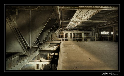 Emptiness all around.