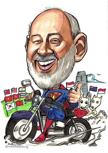 Caricature for JPMC HK A3