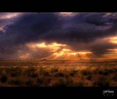 Albuquerque Sunset (Cliff_Baise) Tags: newmexico volcano nikon creative dramatic surreal albuquerque excellent sunrays lionking 2010 cooleffects opencamp d700 aluminarte journeytosanluisobispo