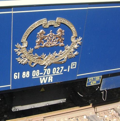 Original Wagons-Lits insignia