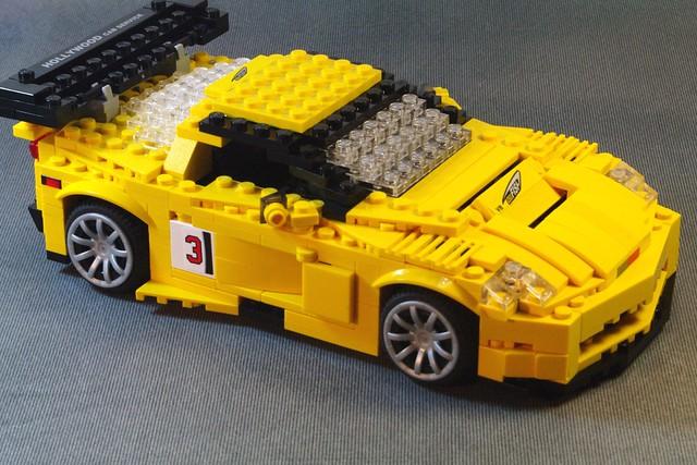 auto usa chevrolet car america model gm lego chevy corvette lemans v8 vette racer alms chev moc c6r gt1 miniland foitsop ls7r