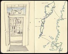 Oban café map