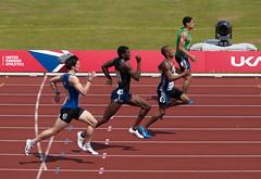 Heat 4 of the Mens 400m (wwarby) Tags: alexandrastadium aviva birmingham ukathletics athletes athletics dash event2010athleticsukchampionships family men outdoors people red run runner running spectator sport sports sprint track trackandfield