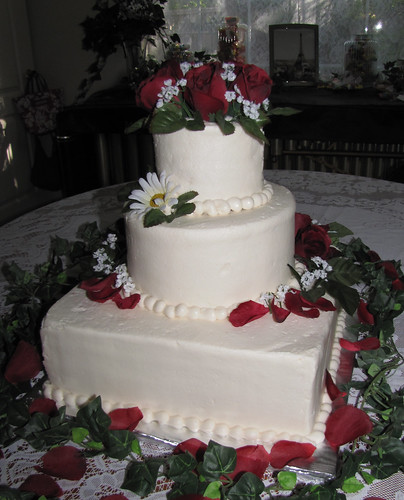 Last Minute Wedding Cake