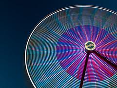 Ferris Wheel (JMS2) Tags: carnival motion wheel fun spin blurred rye round ferriswheel amusementpark rides recreation westchestercounty playlandpark