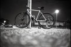 CRNKSTRFXDGR (SuhaimiSalleh) Tags: bw film bike bicycle analog 35mm bikes gear rangefinder olympus developer malaysia epson fixed fixie kuala 135 xa rapid f28 bnw lumpur chemical selfdeveloped fixer v700 lc29 fzuiko ilfotec suhaimisalleh